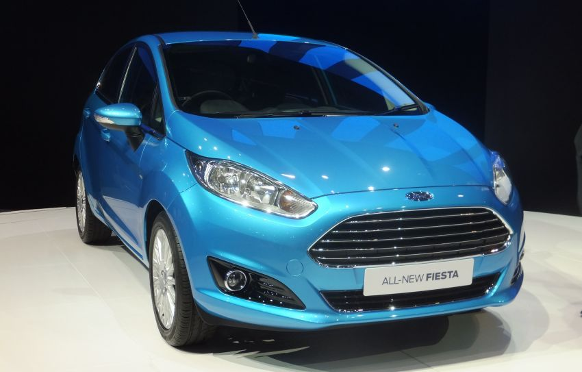 Ford Fiesta facelift gets ASEAN premiere in Bangkok – will now feature 1.0 litre EcoBoost turbo engine Image #163952