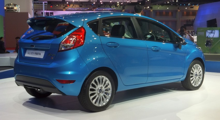 Ford Fiesta facelift gets ASEAN premiere in Bangkok – will now feature 1.0 litre EcoBoost turbo engine Image #163950