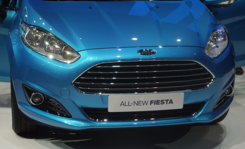 Ford Fiesta facelift gets ASEAN premiere in Bangkok – will now feature 1.0 litre EcoBoost turbo engine Image #163948