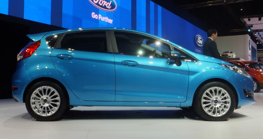 Ford Fiesta facelift gets ASEAN premiere in Bangkok – will now feature 1.0 litre EcoBoost turbo engine Image #163947