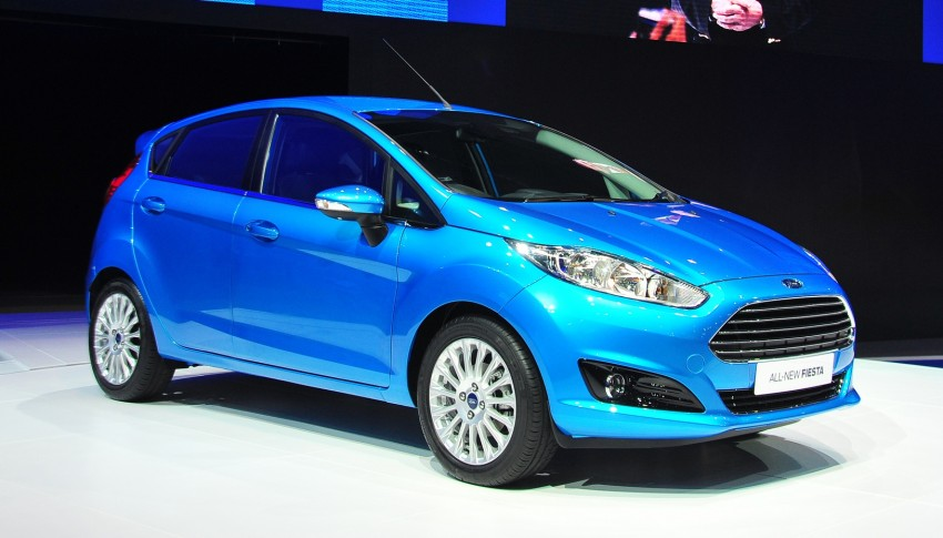 Ford Fiesta facelift gets ASEAN premiere in Bangkok – will now feature 1.0 litre EcoBoost turbo engine Image #163946