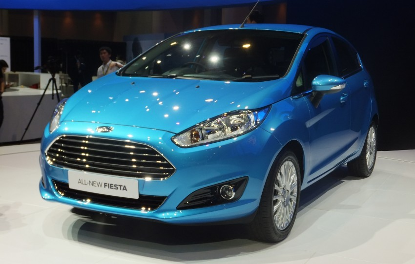 Ford Fiesta facelift gets ASEAN premiere in Bangkok – will now feature 1.0 litre EcoBoost turbo engine Image #163945