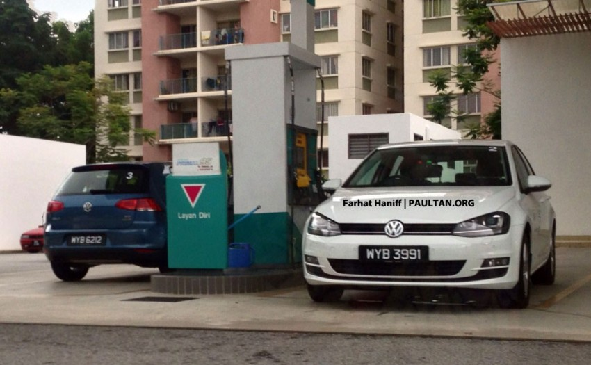 SPYSHOTS: VW Golf Mk7 – registered units spotted Image #161043