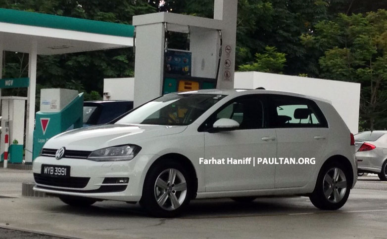 SPYSHOTS: VW Golf Mk7 – registered units spotted Image #161046