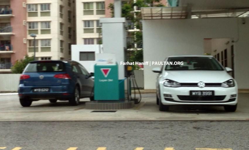 SPYSHOTS: VW Golf Mk7 – registered units spotted Image #161044