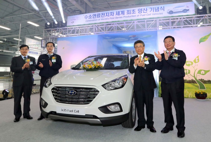 Hyundai ix35 Fuel Cell rolls off Ulsan production line Image #161108