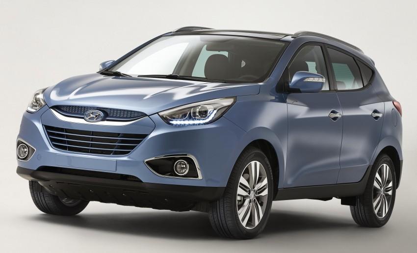Hyundai Tucson facelift revealed ahead of Geneva Image #158675
