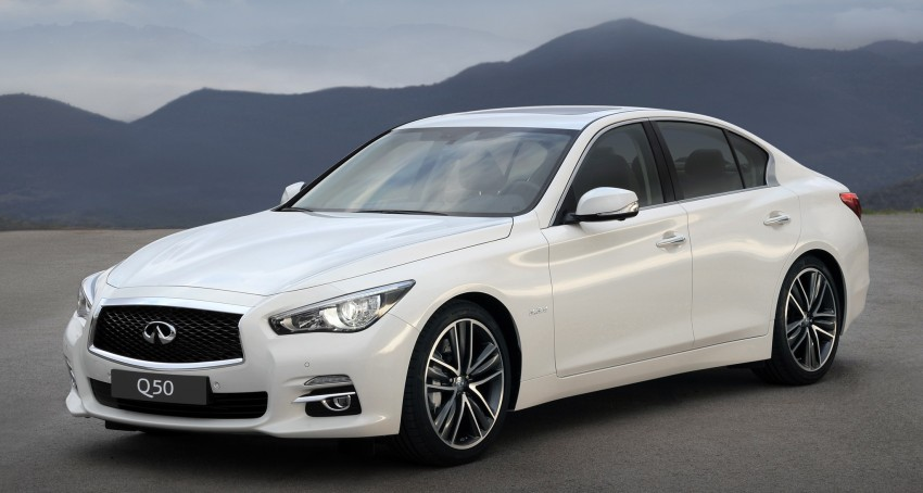 Infiniti Q50 – diesel, hybrid versions for Europe Image #159289