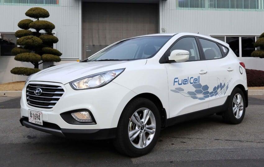 Hyundai ix35 Fuel Cell rolls off Ulsan production line Image #161109