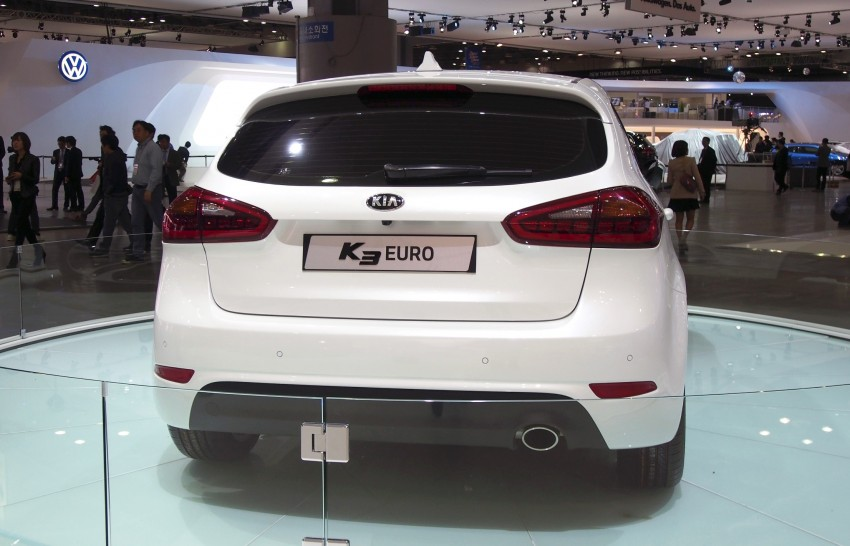 Kia Forte hatchback is called the K3 Euro in Korea Image #165291