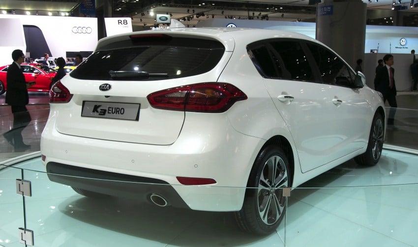 Kia Forte hatchback is called the K3 Euro in Korea Image #165276