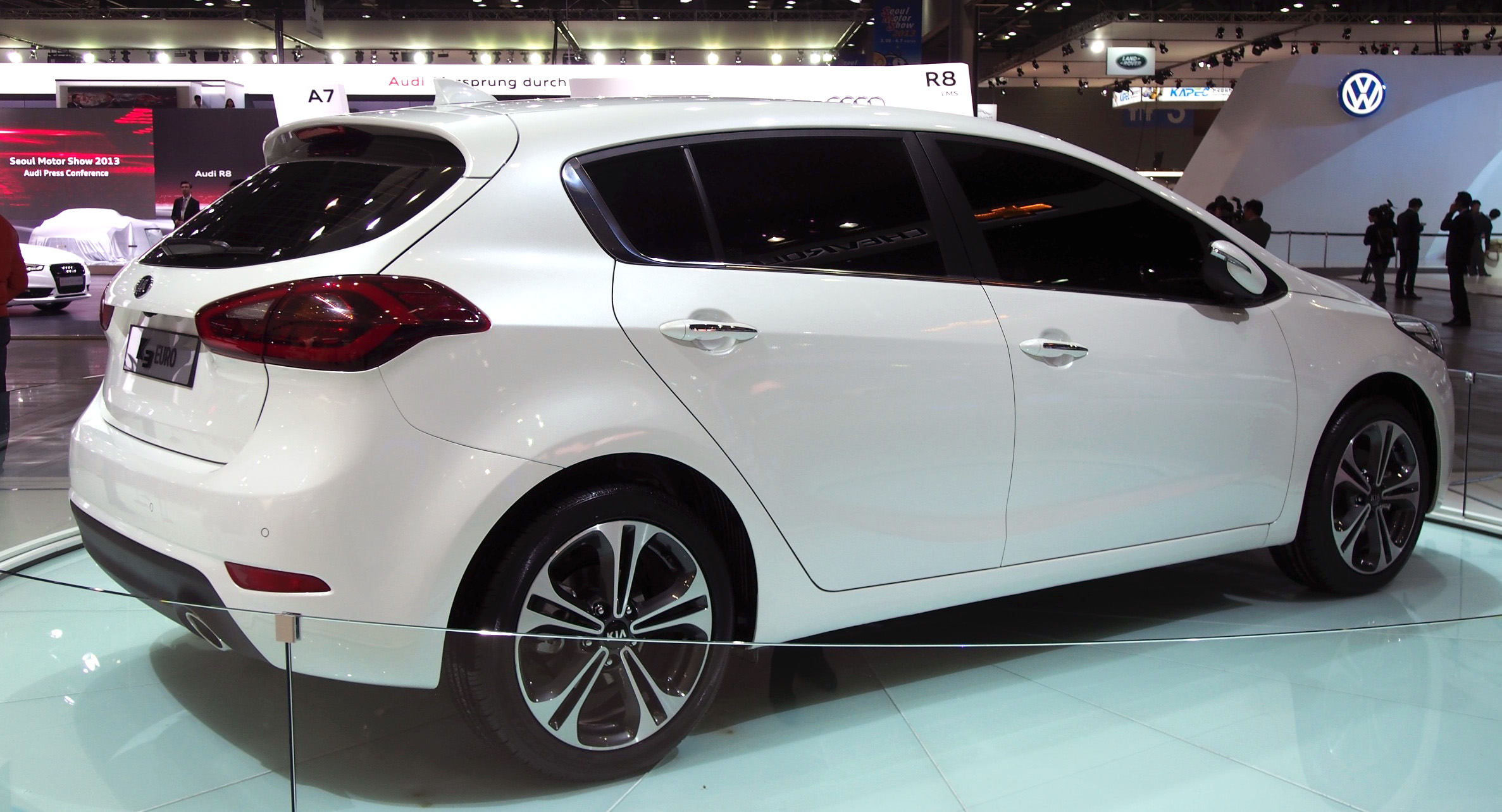 Kia Forte hatchback is called the K3 Euro in Korea