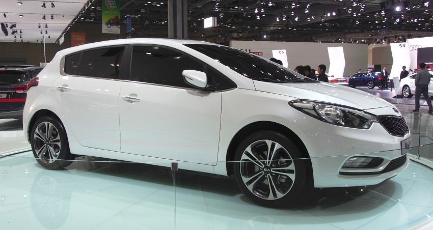 Kia Forte hatchback is called the K3 Euro in Korea Image #165288