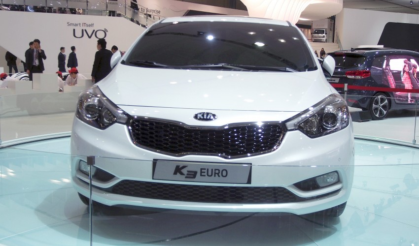 Kia Forte hatchback is called the K3 Euro in Korea Image #165278