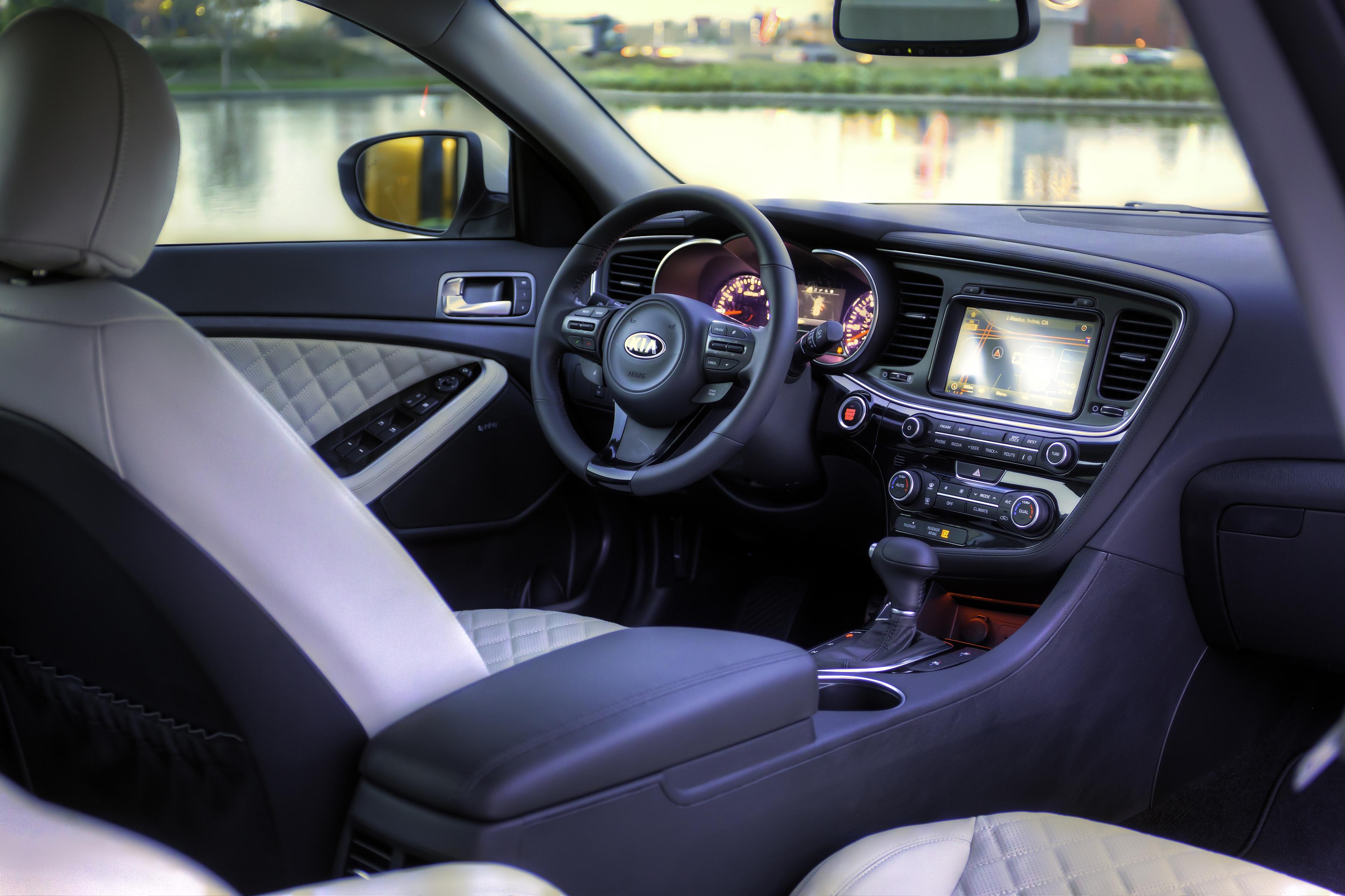 interior cars kia motor reviews trend rating view optima and