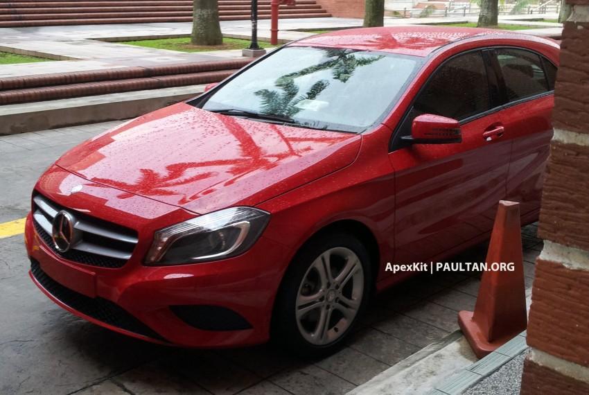SPIED: Mercedes-Benz A 200 seen at JPJ Putrajaya Image #165073