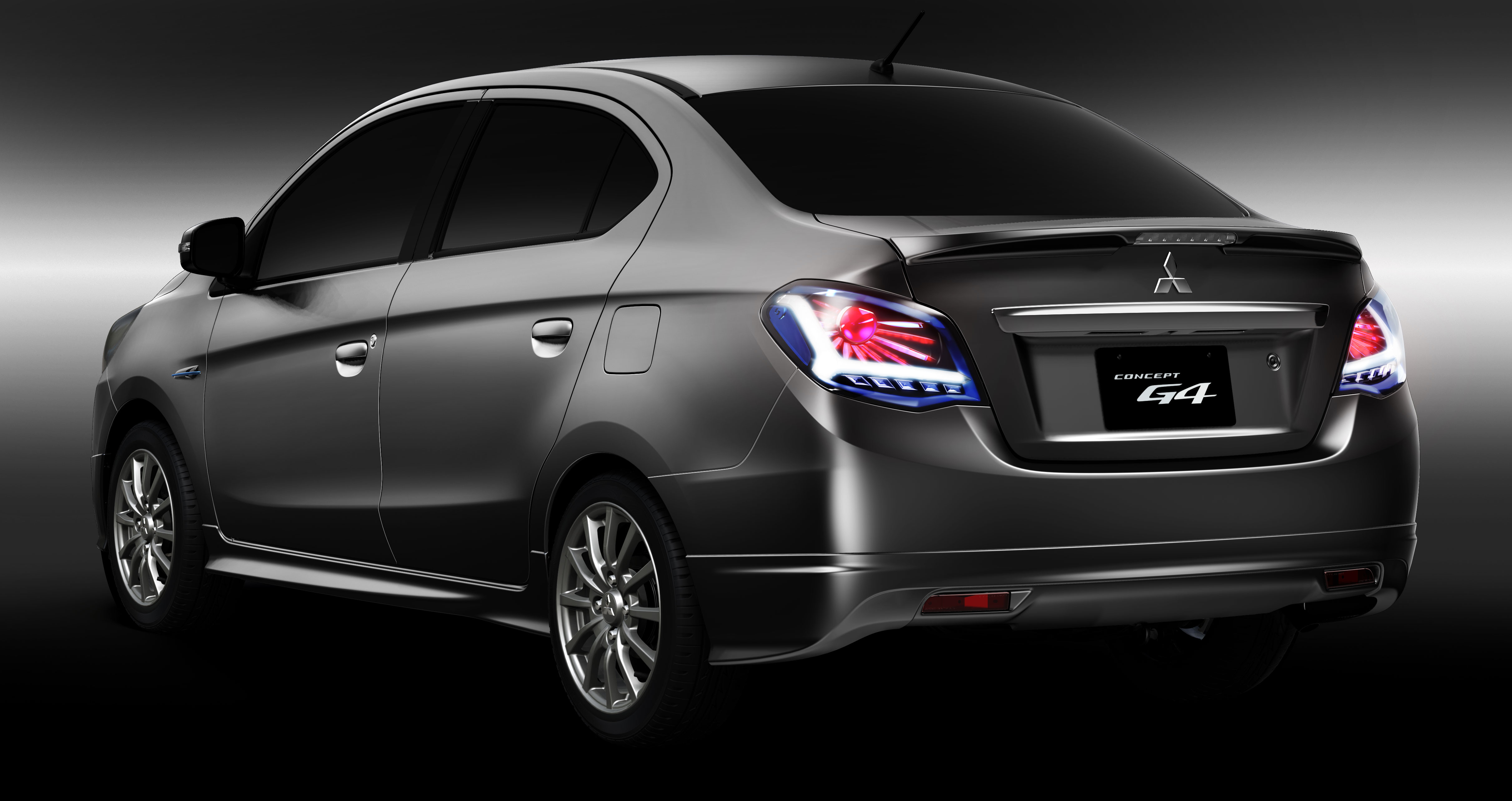 Sedan >> Mitsubishi Concept G4 previews Mirage sedan Paul Tan - Image 164949