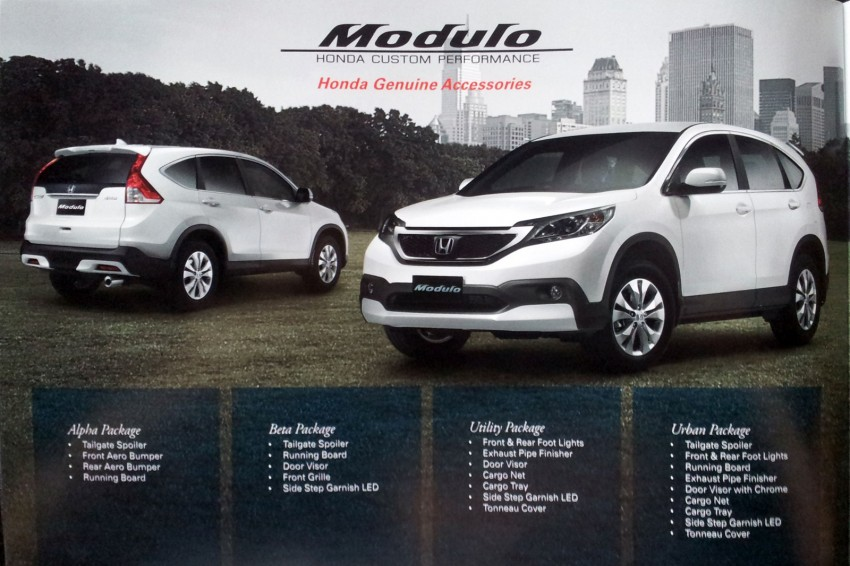 Honda CR-V launched – 2.0 litre, CKD, RM148,800 Image #159071