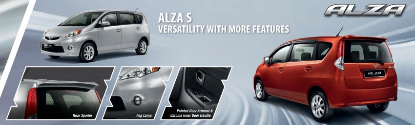Perodua launches S-Series Viva, Myvi and Alza – all Peroduas now come with 3 years free service Image #161727