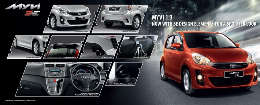 Perodua launches S-Series Viva, Myvi and Alza – all Peroduas now come with 3 years free service Image #161725