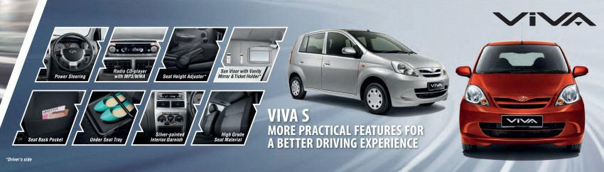 Perodua launches S-Series Viva, Myvi and Alza – all Peroduas now come with 3 years free service Image #161726