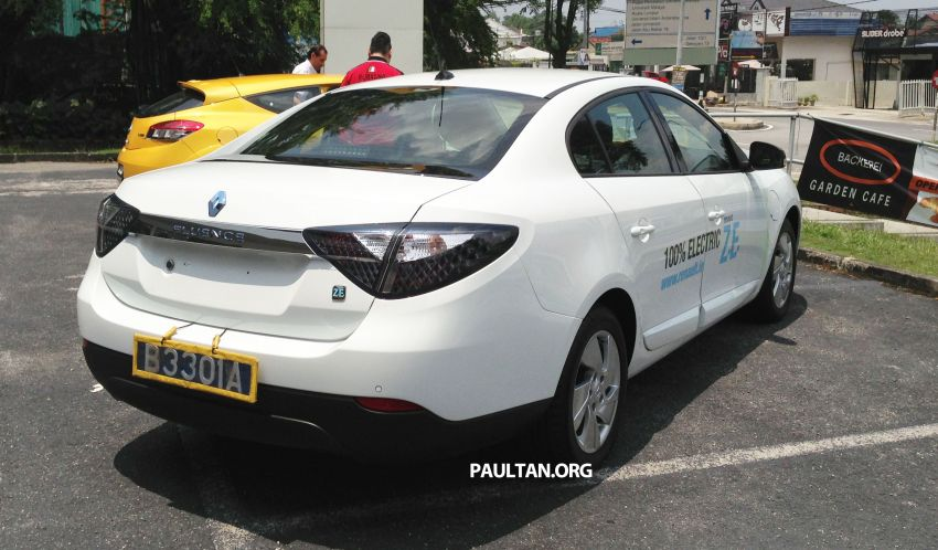 Renault Fluence Z.E. with tradeplates spotted in PJ Image #163720