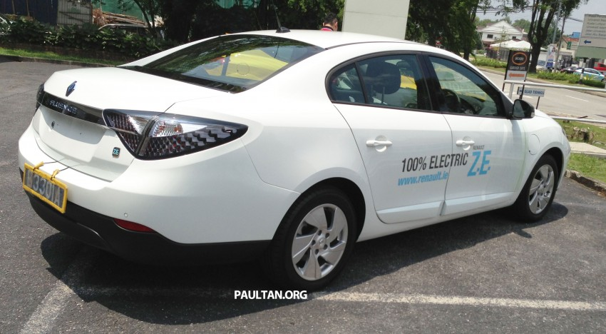 Renault Fluence Z.E. with tradeplates spotted in PJ Image #163723
