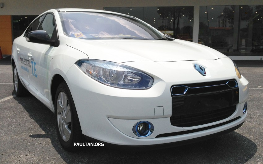 Renault Fluence Z.E. with tradeplates spotted in PJ Image #163717