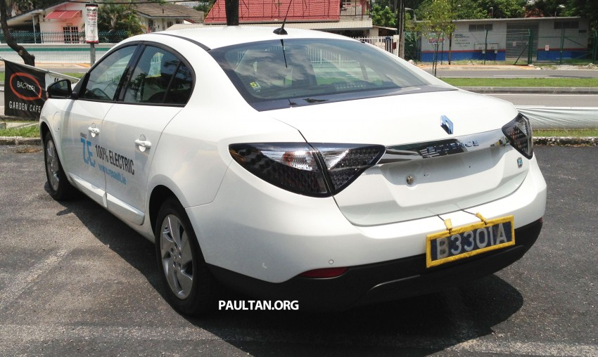 Renault Fluence Z.E. with tradeplates spotted in PJ Image #163716