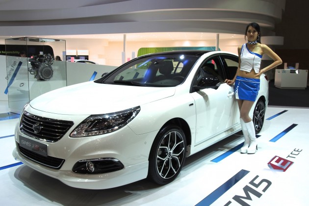 renault samsung sm5 tce