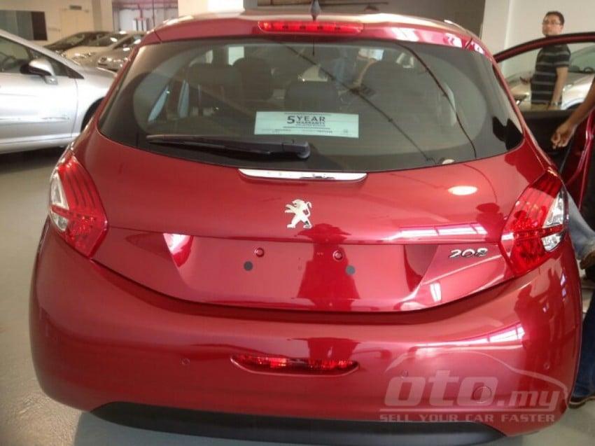 Peugeot 208 – pics of Malaysian spec car surface! Image #162797