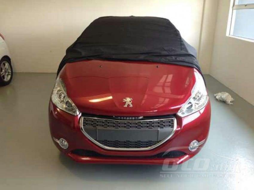 Peugeot 208 – pics of Malaysian spec car surface! Image #162804