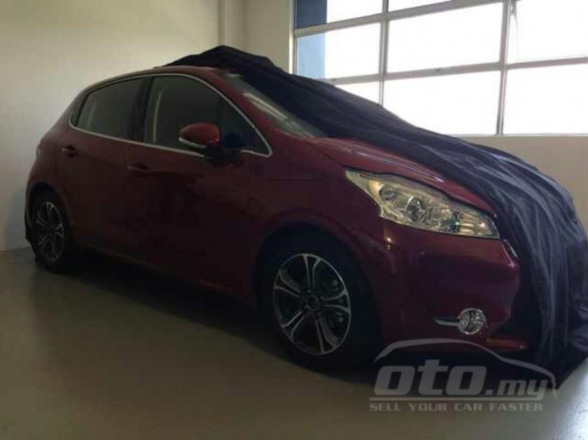 Peugeot 208 – pics of Malaysian spec car surface! Image #162806