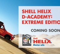 shell helix d academy driven to extreme