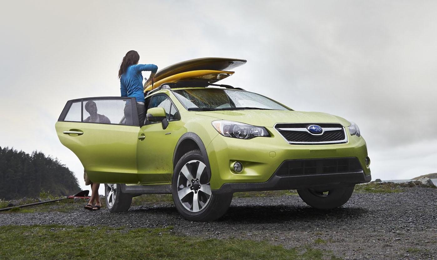 Subaru XV Crosstrek Hybrid unveiled at NYIAS 2013 Image 165456