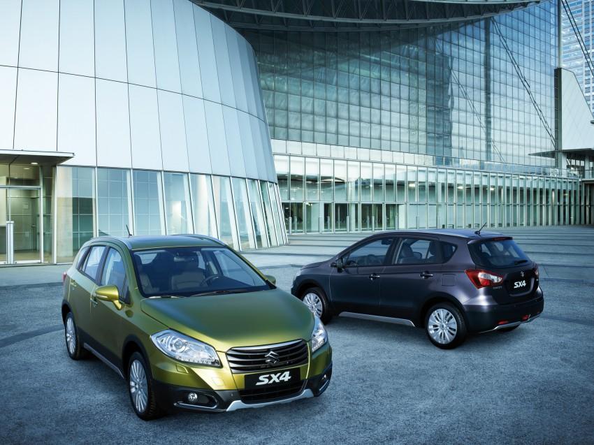 Suzuki SX4 – second-gen debuts in Geneva Image #159237