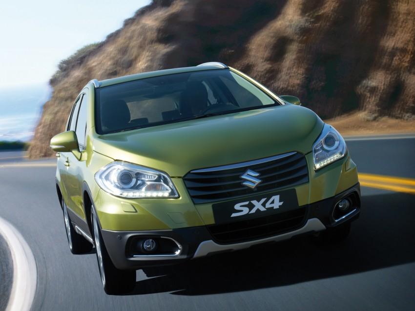 Suzuki SX4 – second-gen debuts in Geneva Image #159243