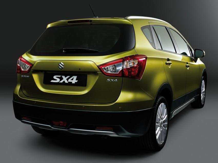 Suzuki SX4 – second-gen debuts in Geneva Image #159245