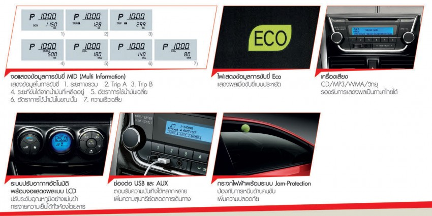 2013 Toyota Vios launched in Thailand – full details Image #163536