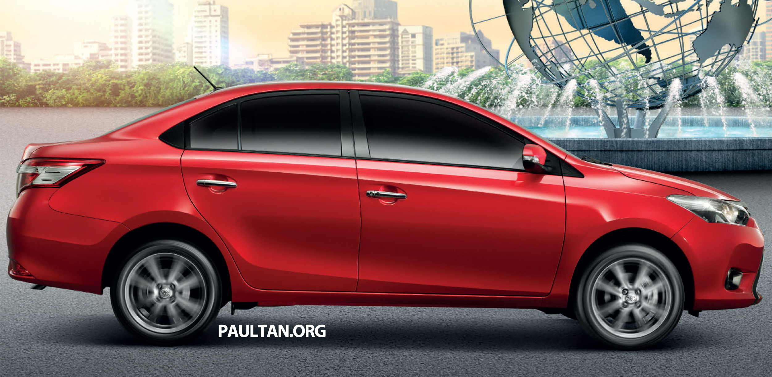 2013 Toyota Vios launched in Thailand – full details