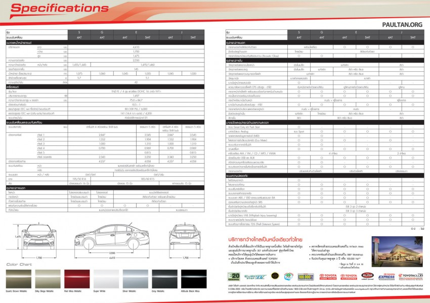 2013 Toyota Vios launched in Thailand – full details Image #163546