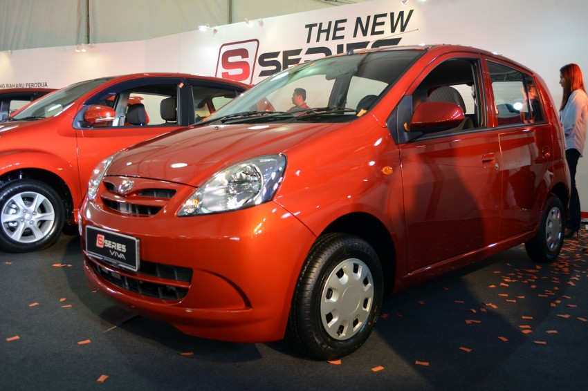 Perodua launches S-Series Viva, Myvi and Alza – all Peroduas now come with 3 years free service Image #161564