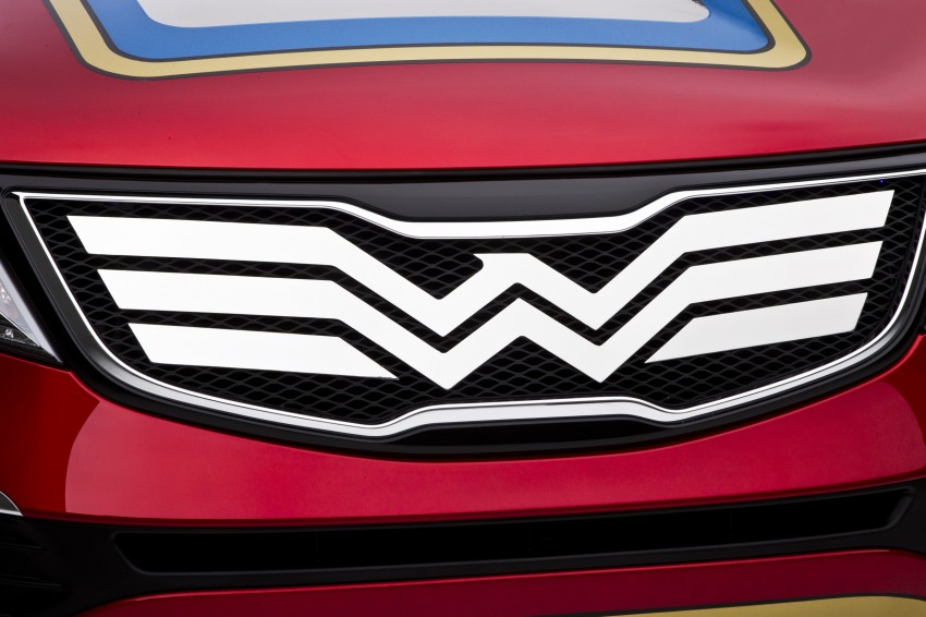 Wonder Woman gets a Kia Sportage for her ride Image #164677