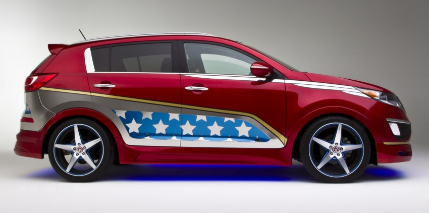Wonder Woman gets a Kia Sportage for her ride Image #164673