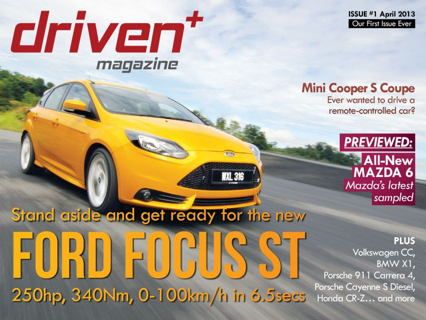Driven+ Magazine Issue #1 out now: Ford Focus ST, Mini Cooper Coupé, Porsche 911 Carrera 4 and more! Image #166321