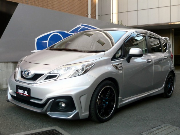 nissan note - impul offers tuning package for second-gen mini mpv