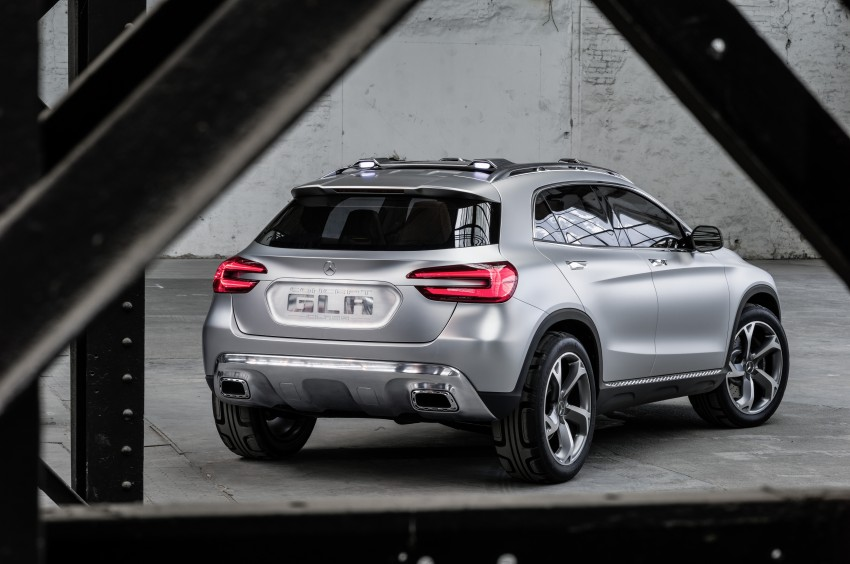 Mercedes-Benz GLA Concept is Shanghai-bound Image #169322
