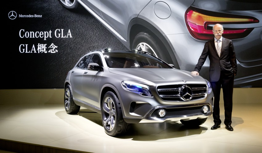 Shanghai 2013 Live: Mercedes-Benz Concept GLA Image #169895