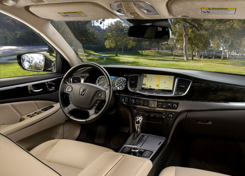 2014 Hyundai Equus – the Korean S-Class enhanced Image #166065