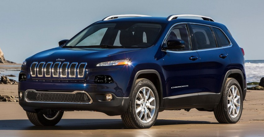 2014 Jeep Cherokee – 9-speed auto, face from Mars Image #165473